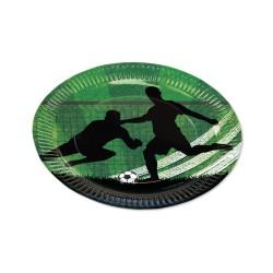 Pappteller TapirElla Fussball aus dem Lutz Mauder Verlag