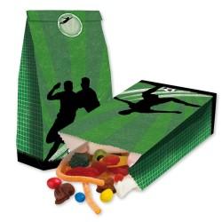 Party Fussball Treat bags - Papierbeutel mit Stickern für Mitgebsel