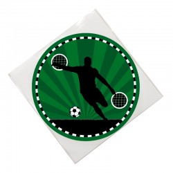 Tortenaufleger Fussball von Lutz Mauder