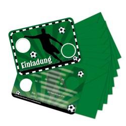 Einladungskarten Fussball aus dem Lutz Mauder Verlag
