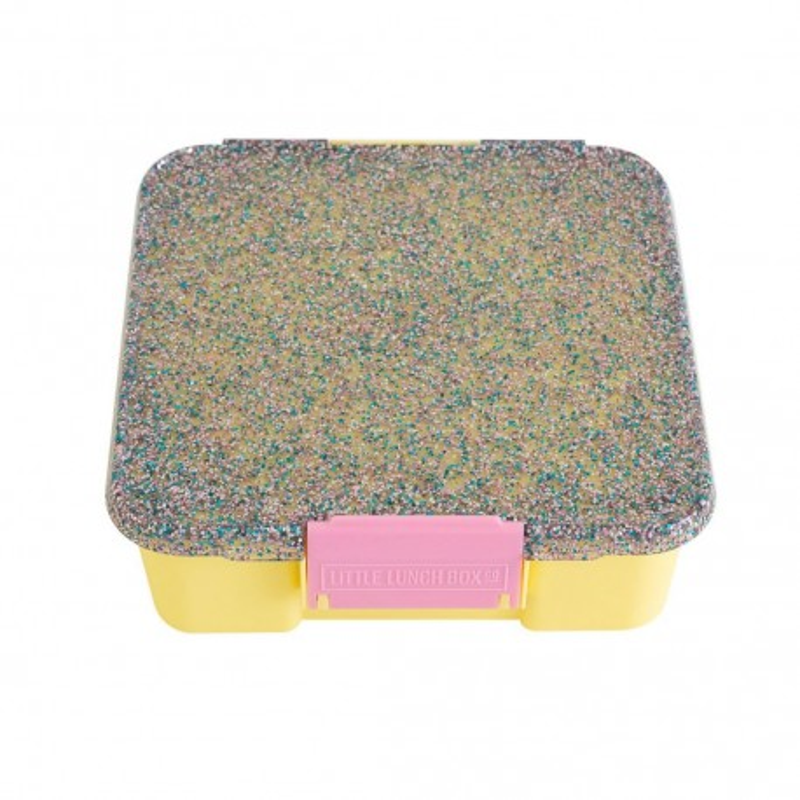 Little Lunch Box Co Znünibox Bento Five - Glitter Gelb