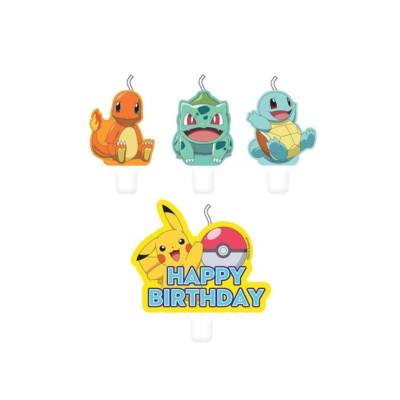 Figurenkerzen Pokémon von Amscan