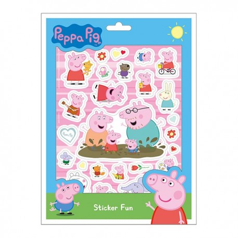 Stickerset Peppa Pig - Peppa Wutz