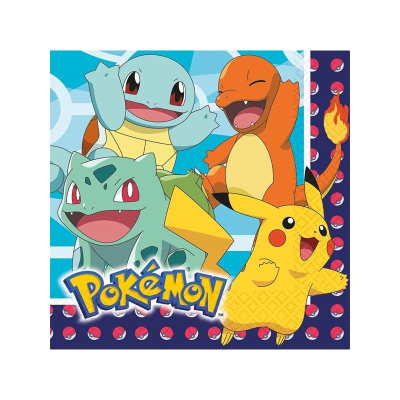 Servietten Pokémon von Amscan