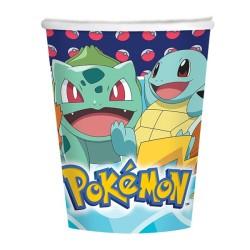 Pappbecher Pokémon von Amscan