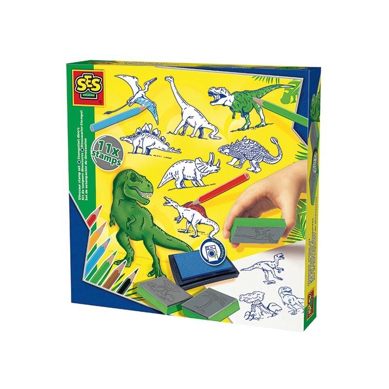 Stempelset Dinosaurier von SES creative