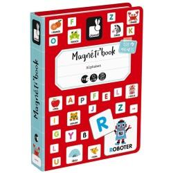 Magnetbuch Alphabet von Janod