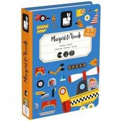Magnetbuch Fahrzeuge von Janod