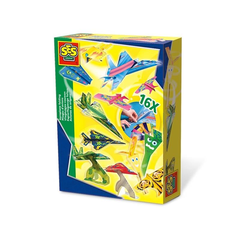 Papierflugzeuge falten mit SES creative