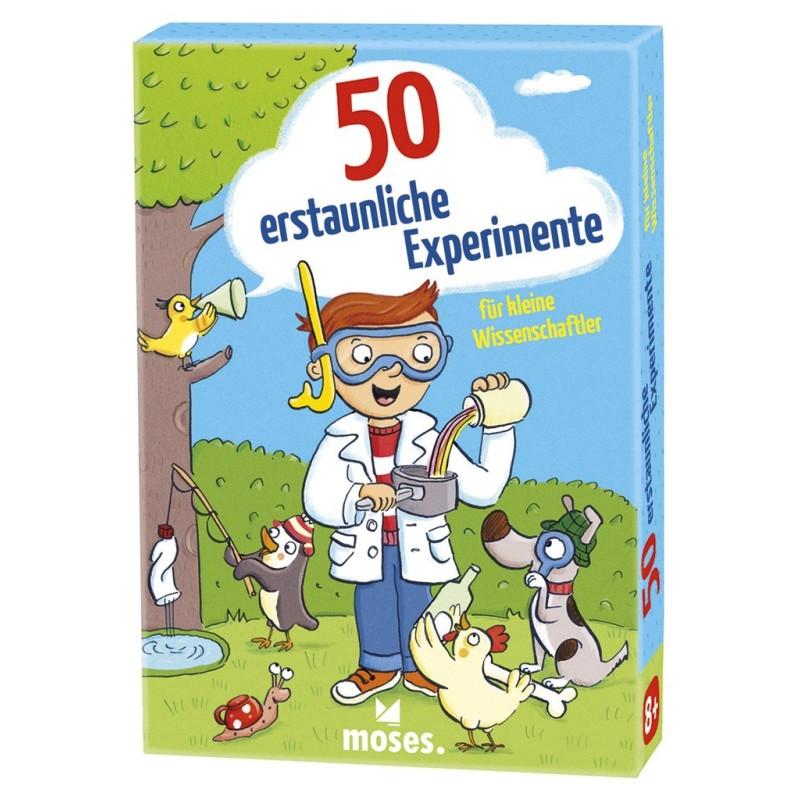 50 erstaunliche Experimente für kleine Wissenschaftler