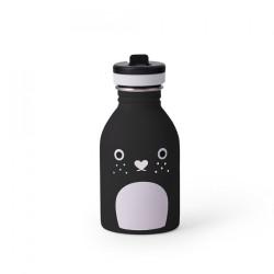 Trinkflasche Riceberry in schwarz von Noodoll und 24Bottles