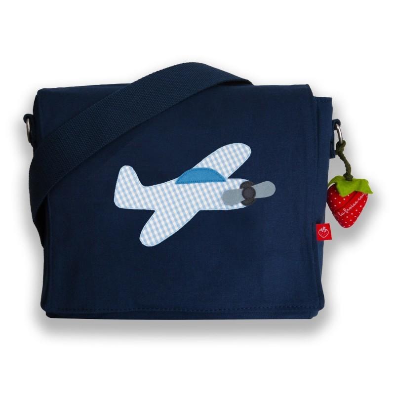 Kindergartentasche Flugzeug von la fraise rouge