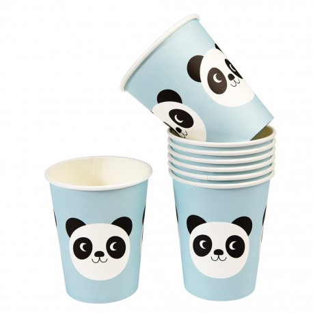 Pappbecher Miko the Panda von Rex London