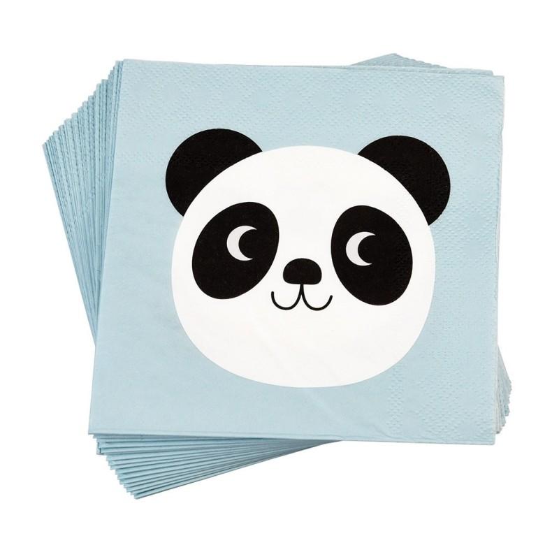 Servietten Miko the Panda von Rex London