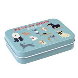 Pflaster Best in Show Hunde in Metalldose von Rex London