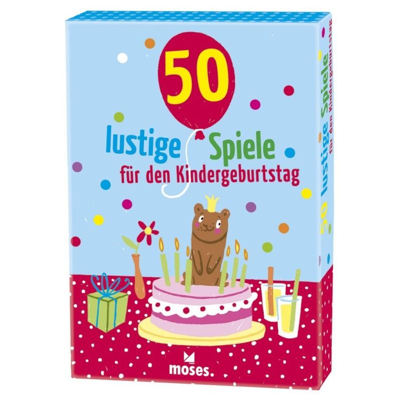 50 lustige Spiele für den Kindergeburtstag