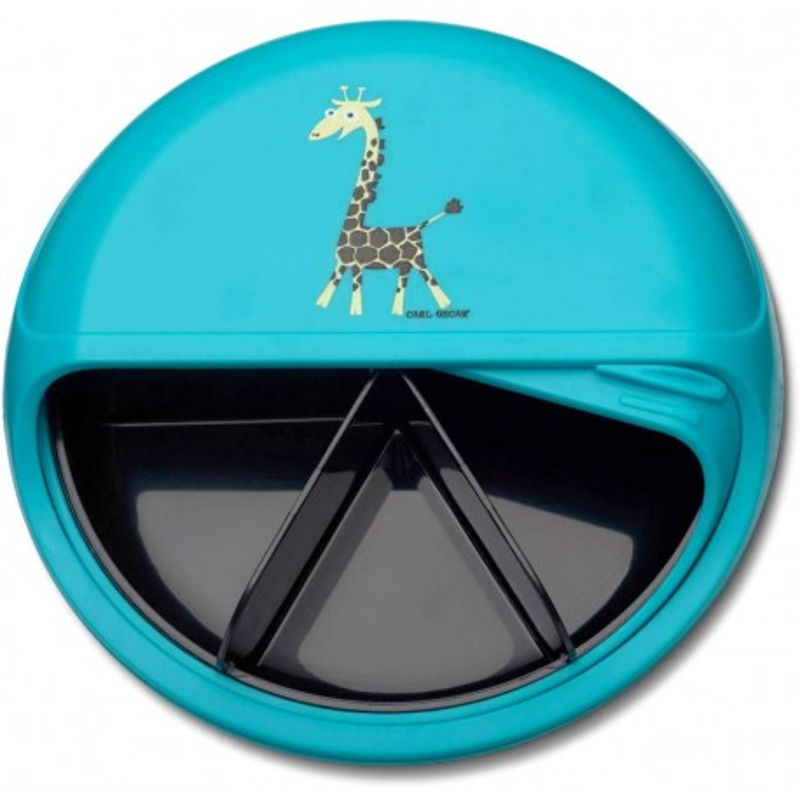 BentoDISC Giraffe die Znünibox mit dem Dreh von Carl Oscar