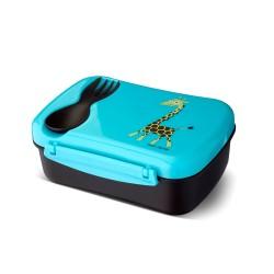 Nice Box Giraffe die auslaufsichere Znünibox mit Kühlakku & Besteck von Carl Oscar