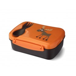 Nice Box Elch die auslaufsichere Znünibox mit Kühlakku & Besteck von Carl Oscar