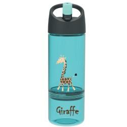 Trinkflasche 2 in 1 Giraffe mit Snackbox von Carl Oscar