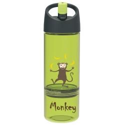Trinkflasche 2 in 1 Affe mit Snackbox von Carl Oscar
