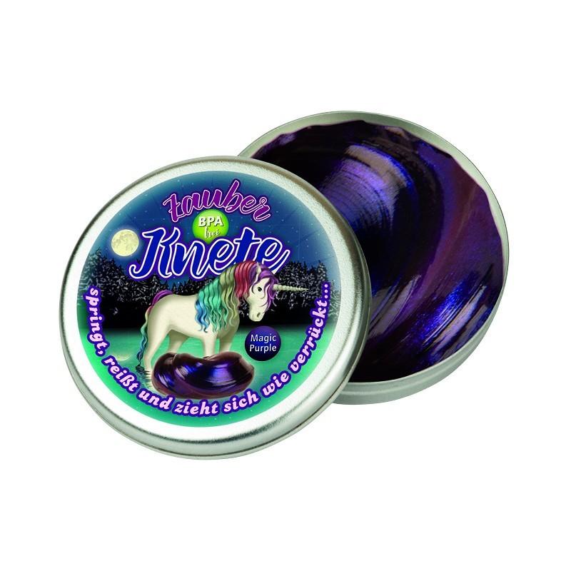Zauberknete Einhorn Lunabelle Magic Purple von Lutz Mauder