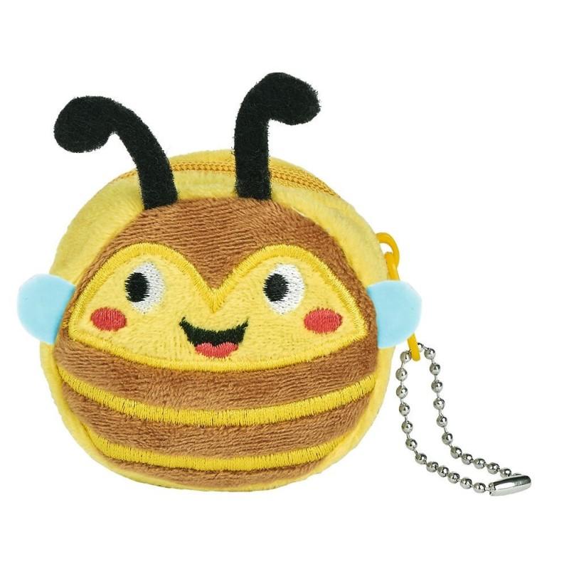 Portemonniae Biene aus Plüsch