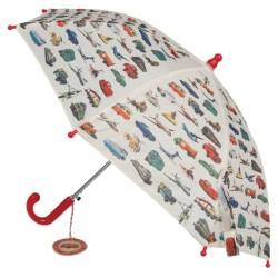 Kinderregenschirm Vintage Fahrzeuge von Rex London