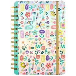 Flowers & Friends Notizbuch