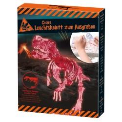 T-Rex Leuchtskelett zum Ausgraben