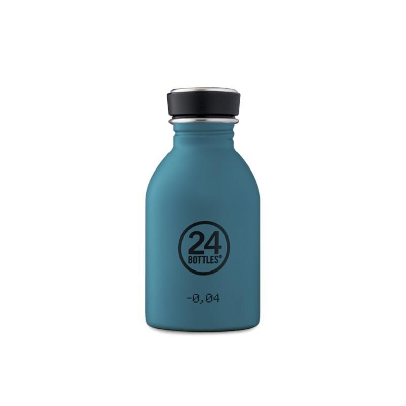 Trinkflasche Urban Bottle Atlantic Bay Petrol von 24Bottles