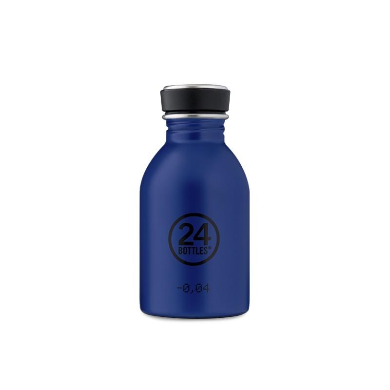 Trinkflasche Urban Bottle Gold Blue von 24Bottles