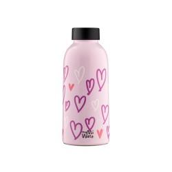 Thermosflasche Mama Wata Hearts von 24Bottles