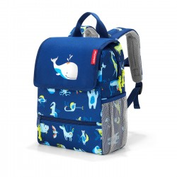 Kinderrucksack ABC Friends in blau von Reisenthel