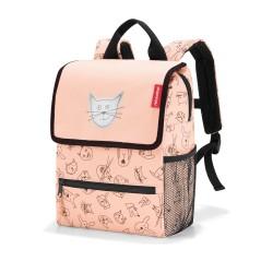 Kinderrucksack Cats and Dogs in rose von Reisenthel