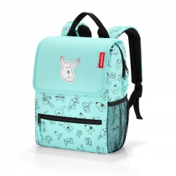 Kinderrucksack Cats and Dogs in mint von Reisenthel