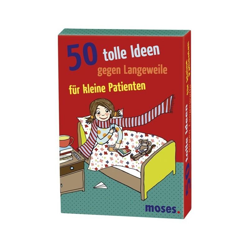 50 tolle Ideen gegen Langeweile für kleine Patienten