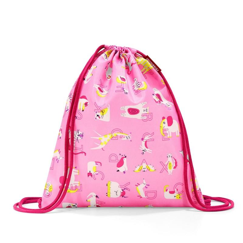Turnbeutel ABC Friends in pink von Reisenthel