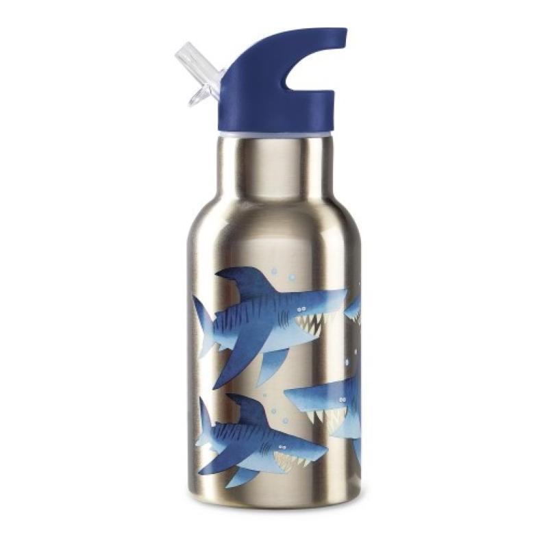 Thermo Trinkflasche Eco Kids Shark - Hai aus Edelstahl von Crocodile Creek
