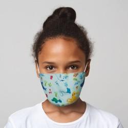 Mund-Nasen-Maske Meerestiere für Kinder