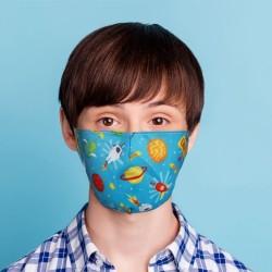 Mund-Nasen-Maske Weltall für Kinder