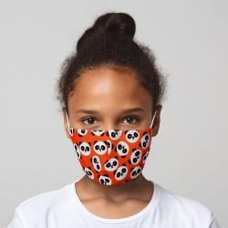 Mund-Nasen-Maske Panda für Kinder