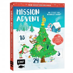 Mein Adventskalender-Buch: Mission Advent
