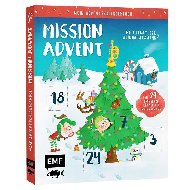 Mein Adventskalender-Buch: Mission Advent
