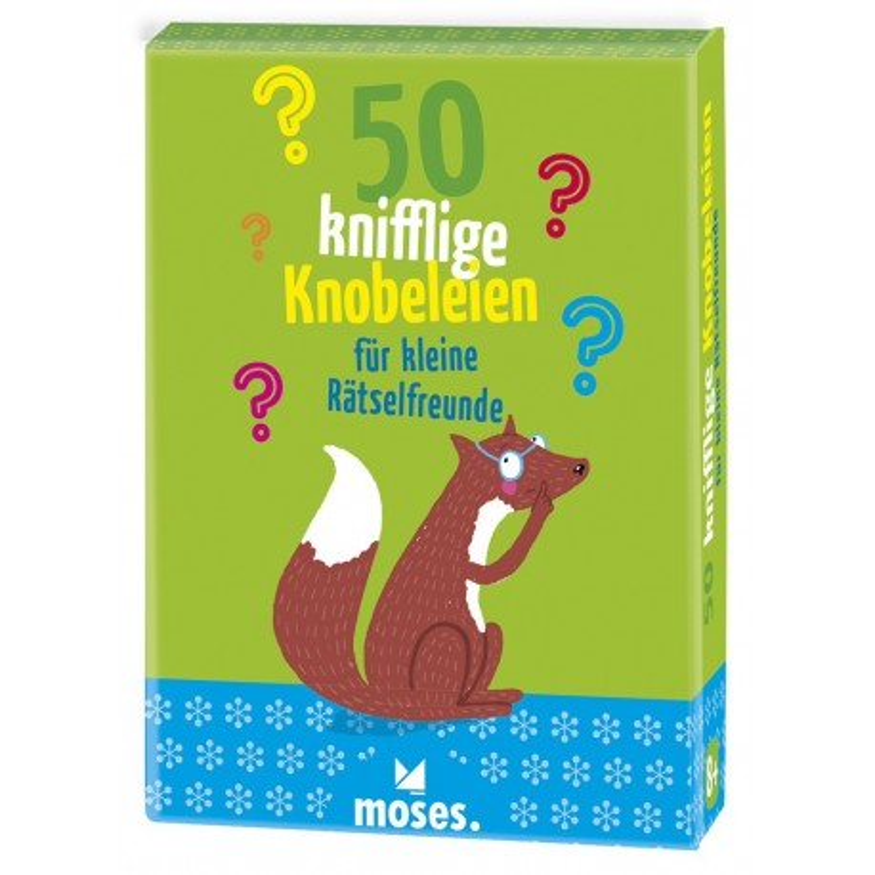 50 knifflige Knobeleien für kleine Rätselfreunde