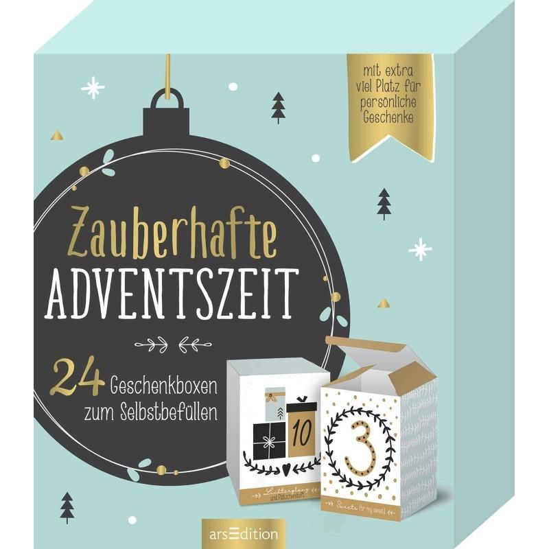 Zauberhafte Adventszeit - 24 Geschenkboxen zum Selbstbefüllen