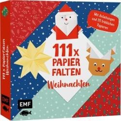 111x Papierfalten Weihnachten
