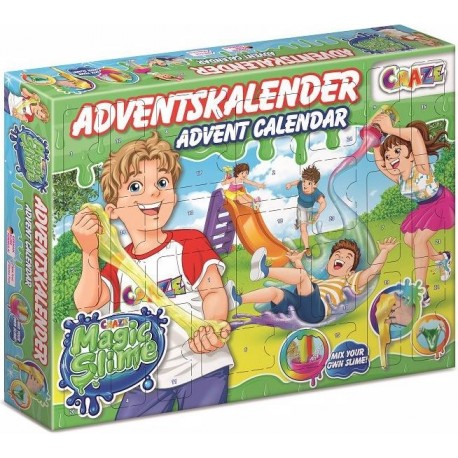 Adventskalender Magic Slime von Craze