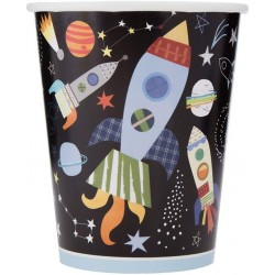 Pappbecher Outer Space Weltall von Unique Party