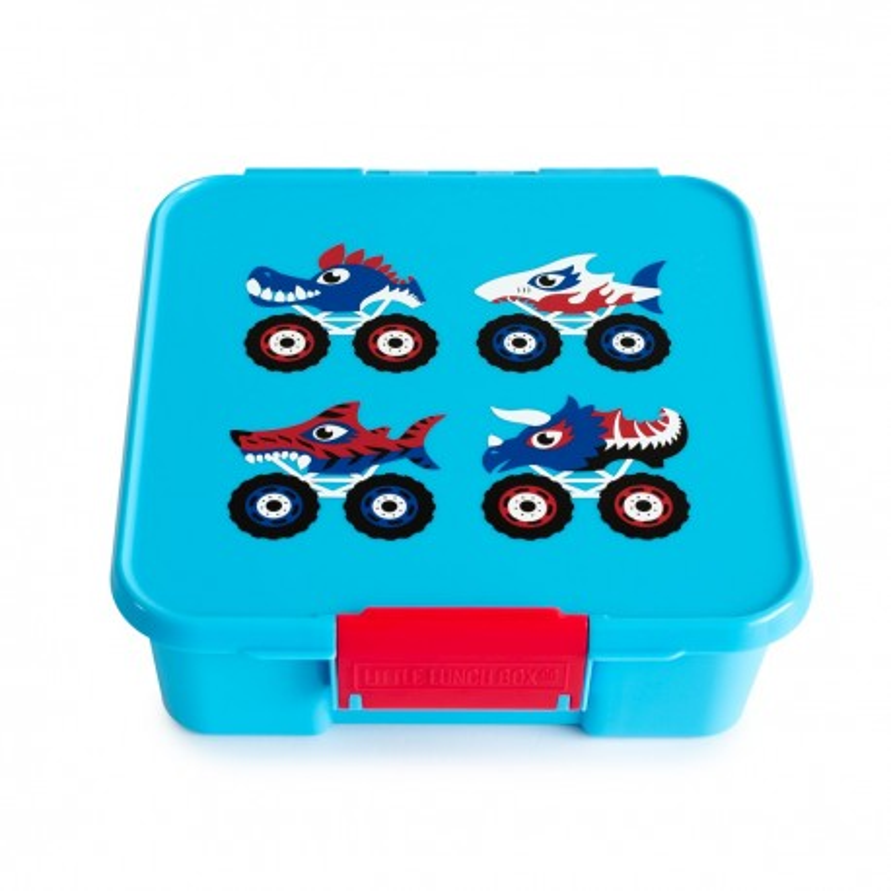 Little Lunch Box Co Znünibox Bento Three - Monster Truck